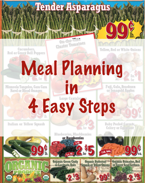 Meal Planning in 4 Easy Steps