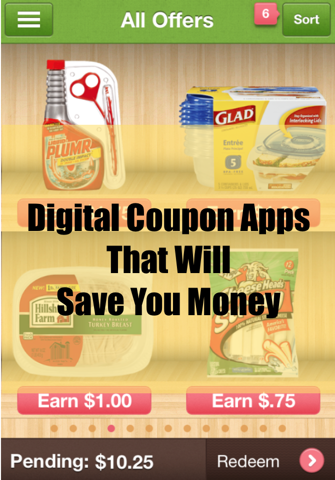 Digital Coupon Apps that Will Save You Money
