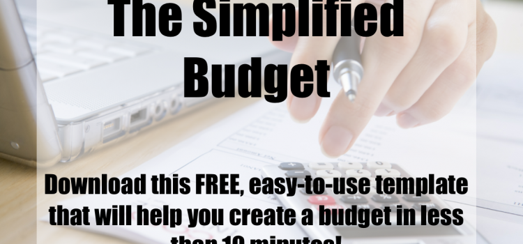 Free Budget Printable